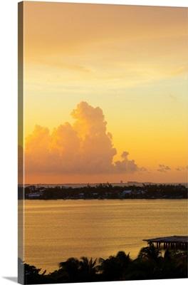 Sunset over Cancun II