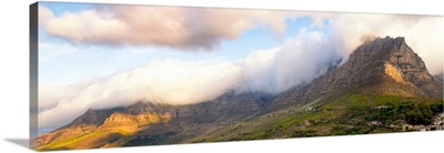 Table Mountain at Sunset - Cape Town
