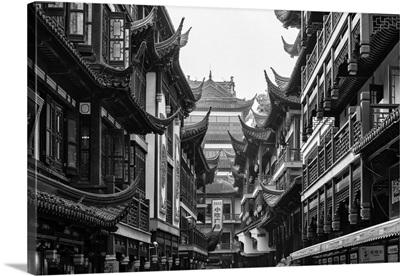 Traditional Architecture in Yuyuan Garden, Shanghai