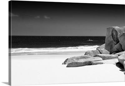 Tranquil White Sand Beach