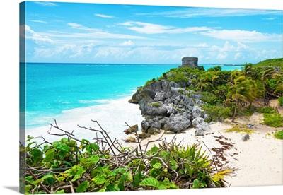 Tulum Ruins along Caribbean Coastline IV