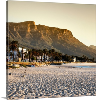 Twelve Apostles Moutains at Sunset - Cape Town