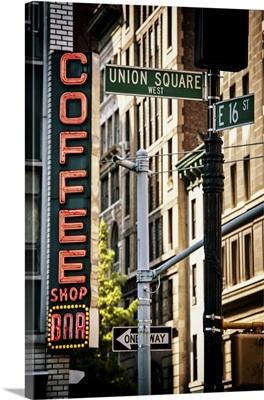 Union Square Sign