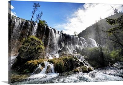 Waterfalls in the Jiuzhaigou National Park
