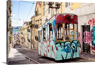 Welcome to Portugal Collection - Graffiti Tram Lisbon