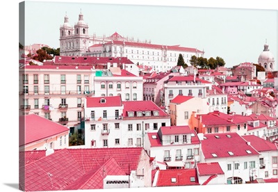 Welcome to Portugal Collection - Incredible Lisbon Pink