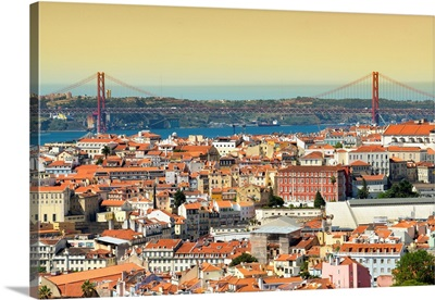 Welcome to Portugal Collection - Lisbon City at Sunset