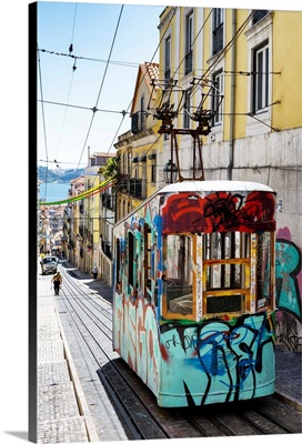 Welcome to Portugal Collection - Lisbon Tram Graffiti