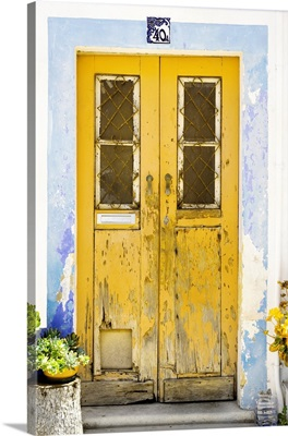Welcome to Portugal Collection - Old Yellow Door