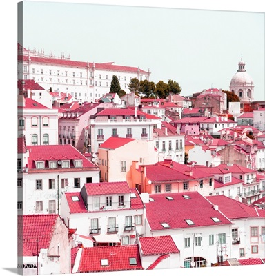Welcome to Portugal Square Collection - Incredible Lisbon Pink