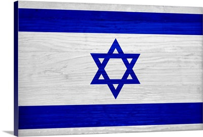 Wood Israel Flag, Flags Of The World Series