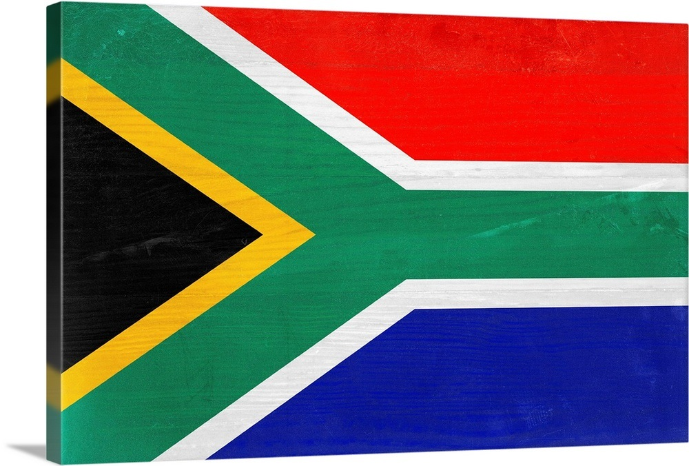 Wood South Africa Flag Flags Of The World Series