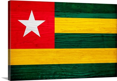 Wood Togo Flag, Flags Of The World Series
