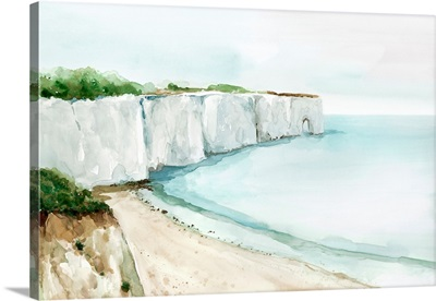 A Cliff By The Sea