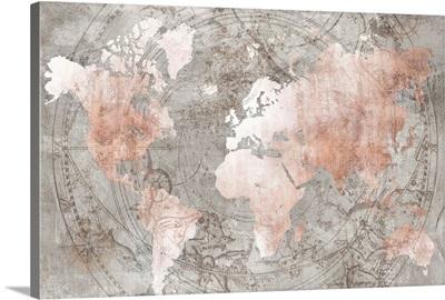 Celestial World Map