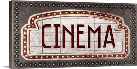Cinema Wall Art, Canvas Prints, Framed Prints, Wall Peels | Great ...