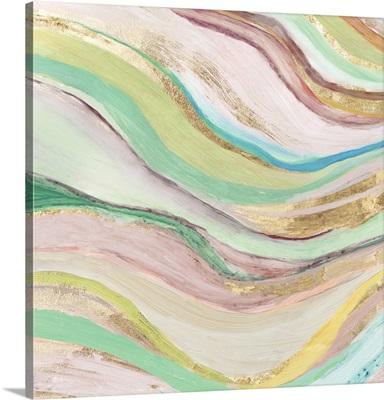 Pastel Waves I