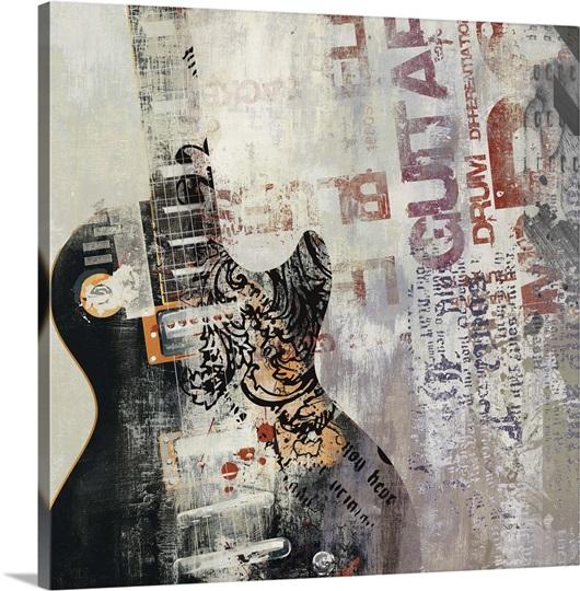 Rock n Roll II Mini Wall Art, Canvas Prints, Framed Prints, Wall ...