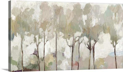 Soft Pastel Forest