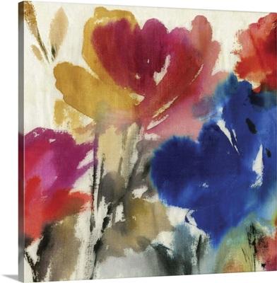 Watercolour Florals I Mini