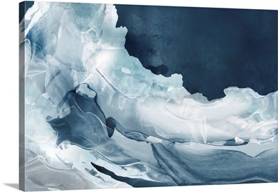 Wave Of Blue Ice