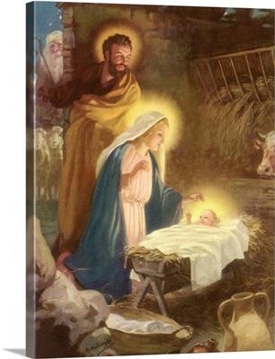 Joseph, Mary, Christ