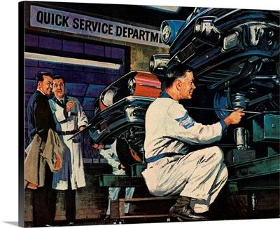 Mechanics and Customers