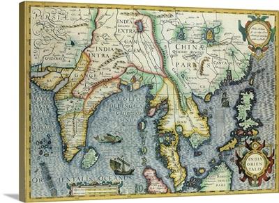 Near East Map 1606