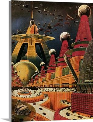 Sci Fi - Future Atomic City