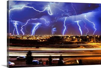 Lightning over Albuquerque