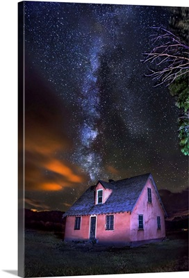 Milky Way Over The Mormon Row Home