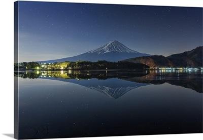 Mt. Fuji in the Night