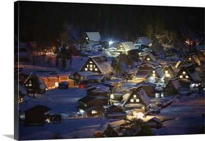 Shirakawa-go in the Night