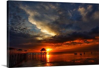 Sunrise at Kenjeran