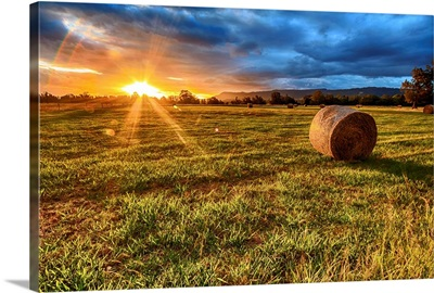 Sunset At The Lord Family Farm