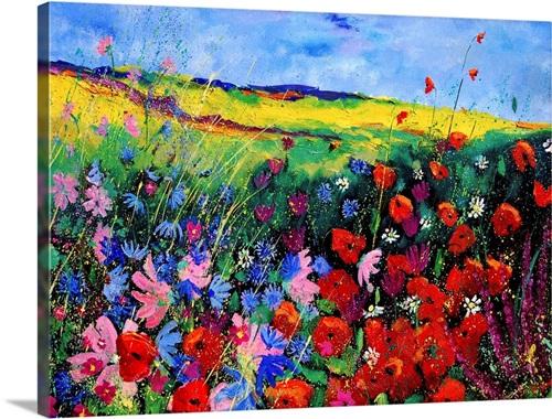 All Kinds Of Field Flowers Wall Art Canvas Prints Framed Prints Wall Peels Great Big Canvas