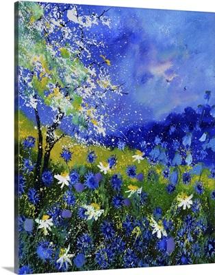 Blue Wild Flowers 676110