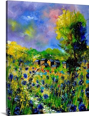 Flowered Village 673160