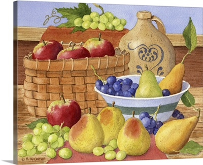 Apples, Grapes and Pears
