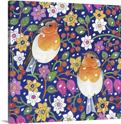 Birds and Florals
