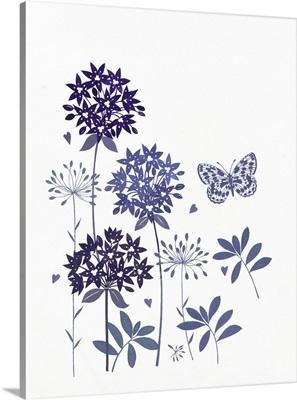 Blue Flowers of Summer