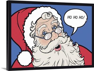 Comic Book Santa