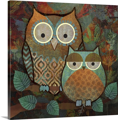 Decorative Owls II