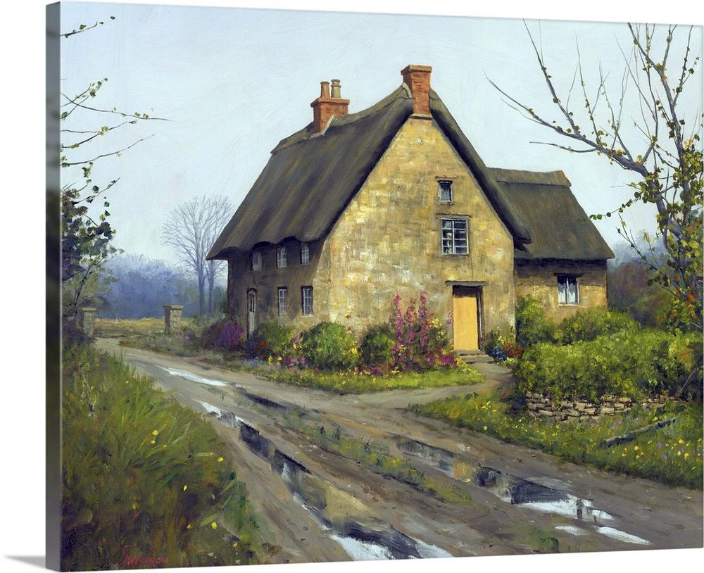 English Cottage Wall Art Canvas Prints Framed Prints Wall Peels