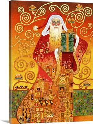 Klimt Santa