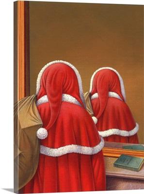 Magritte Santa