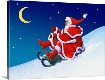 Santa Takes a Ride