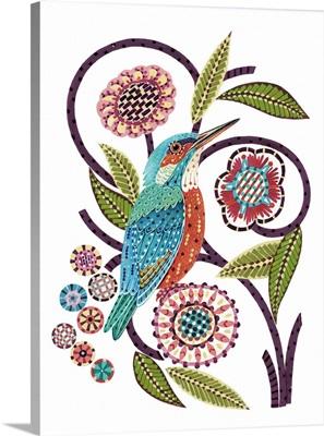 Stitchbird Kingfisher