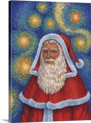 Van Gogh Santa