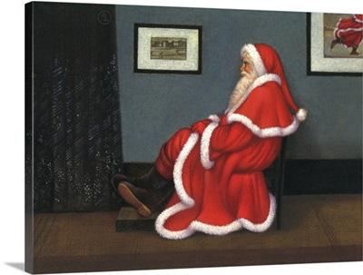 Whistler's Father Christmas